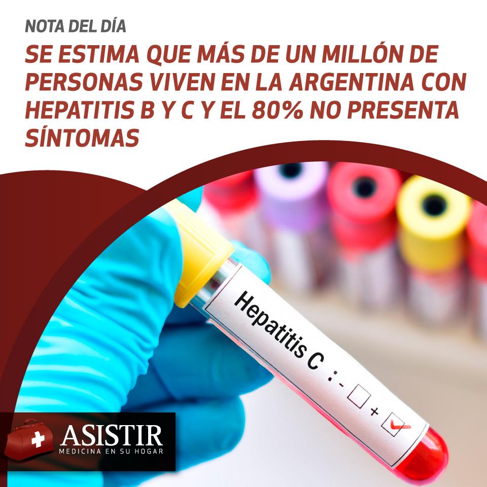 Se estima que más de un millón de personas viven en la Argentina con hepatitis B y C y el 80% no presenta síntomas