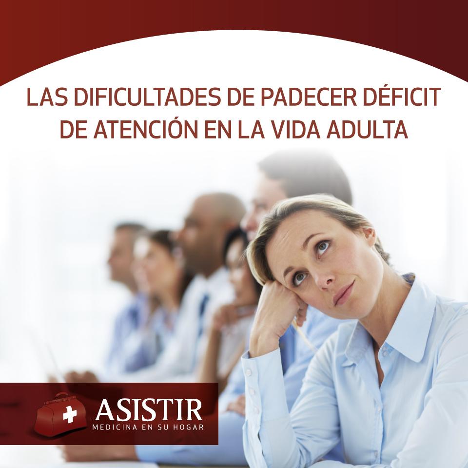 Las dificultades de padecer déficit de atención en la vida adulta