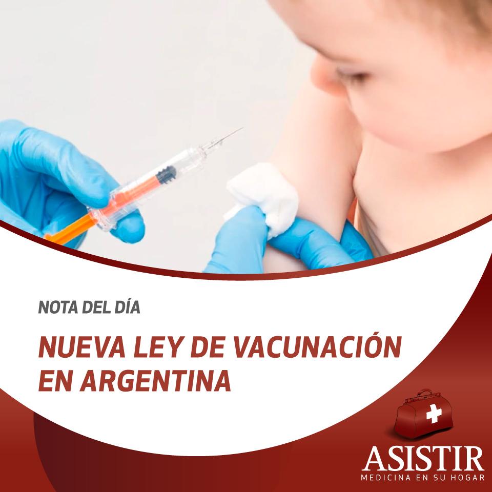 Todo lo que hay que saber de la nueva ley de vacunación en Argentina
