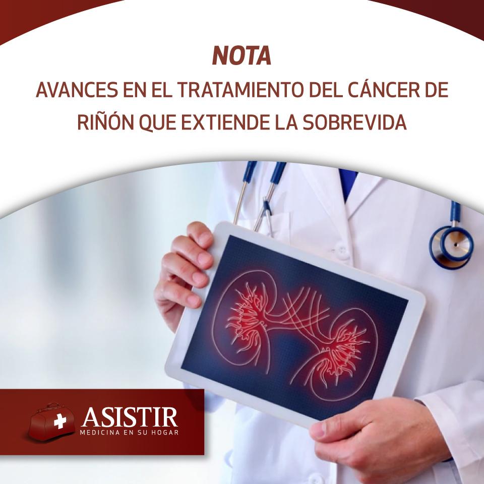 Avances en el tratamiento del cáncer de riñón gracias a una nueva línea terapéutica que extiende la sobrevida