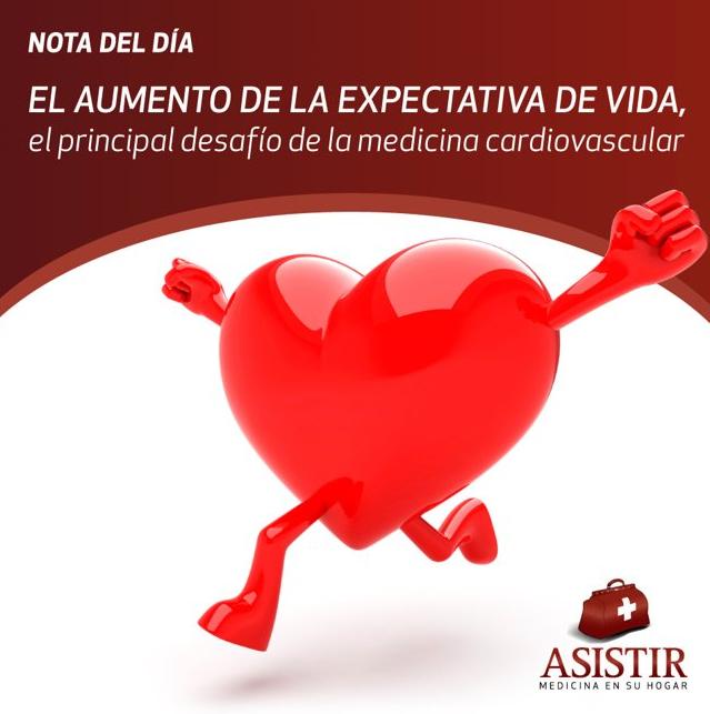 El aumento de la expectativa de vida, el principal desafío de la medicina cardiovascular