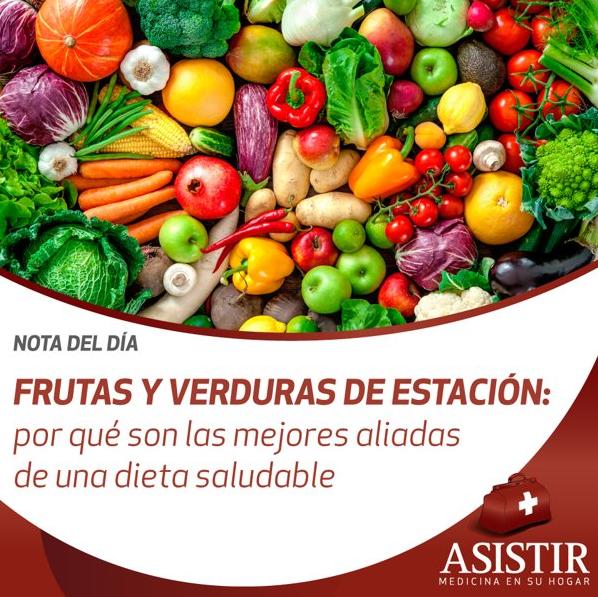 Frutas y verduras de estación: por qué son las mejores aliadas de una dieta saludable