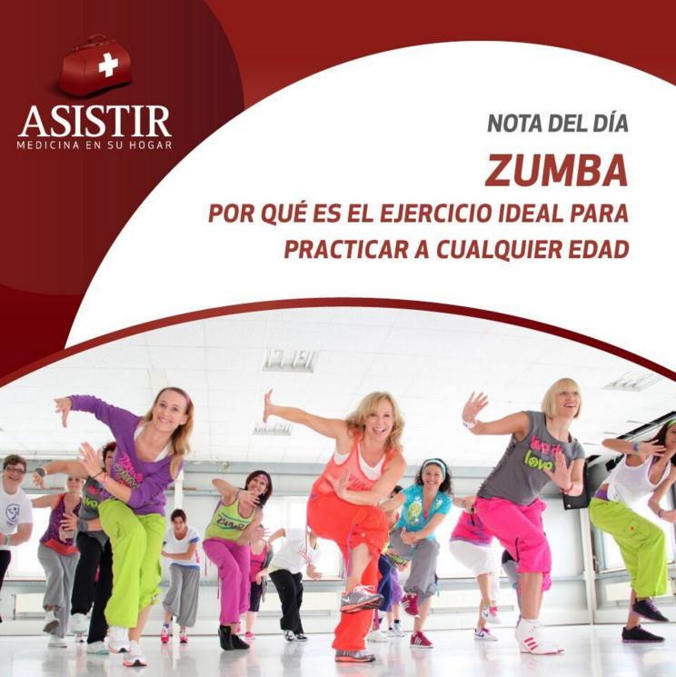 Zumba: por qué es el ejercicio ideal para practicar a cualquier edad