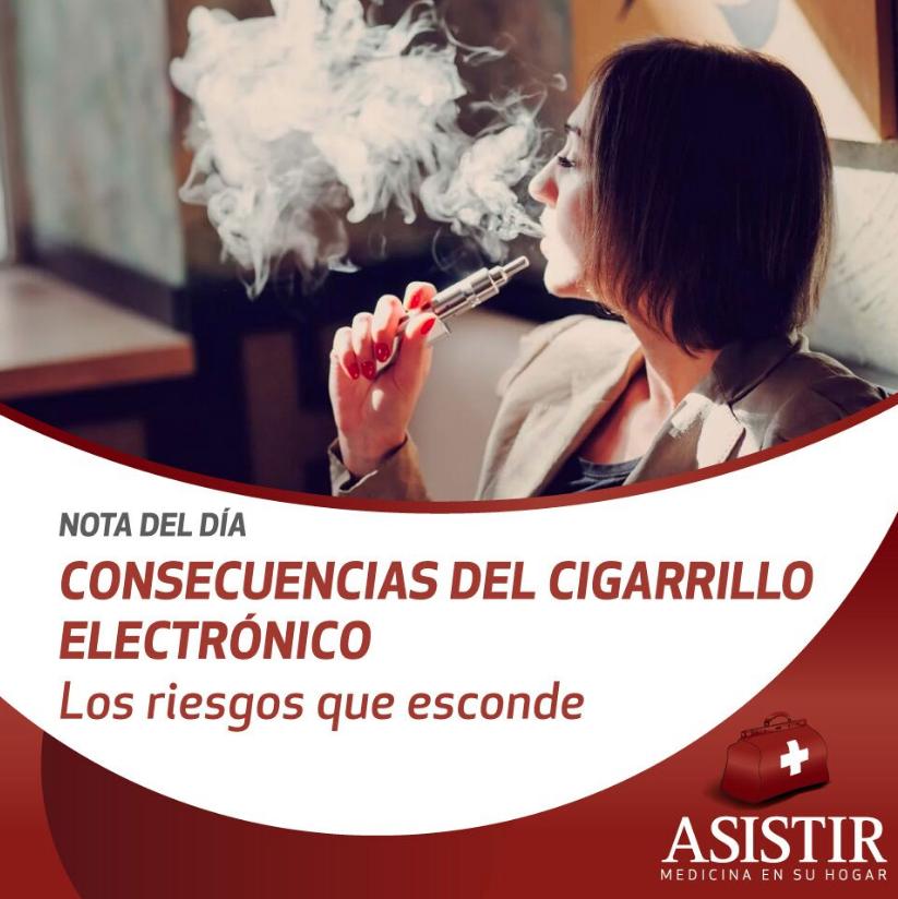 Consecuencias del cigarrillo electrónico: los riesgos que esconde el tabaquismo bajo nuevos formatos